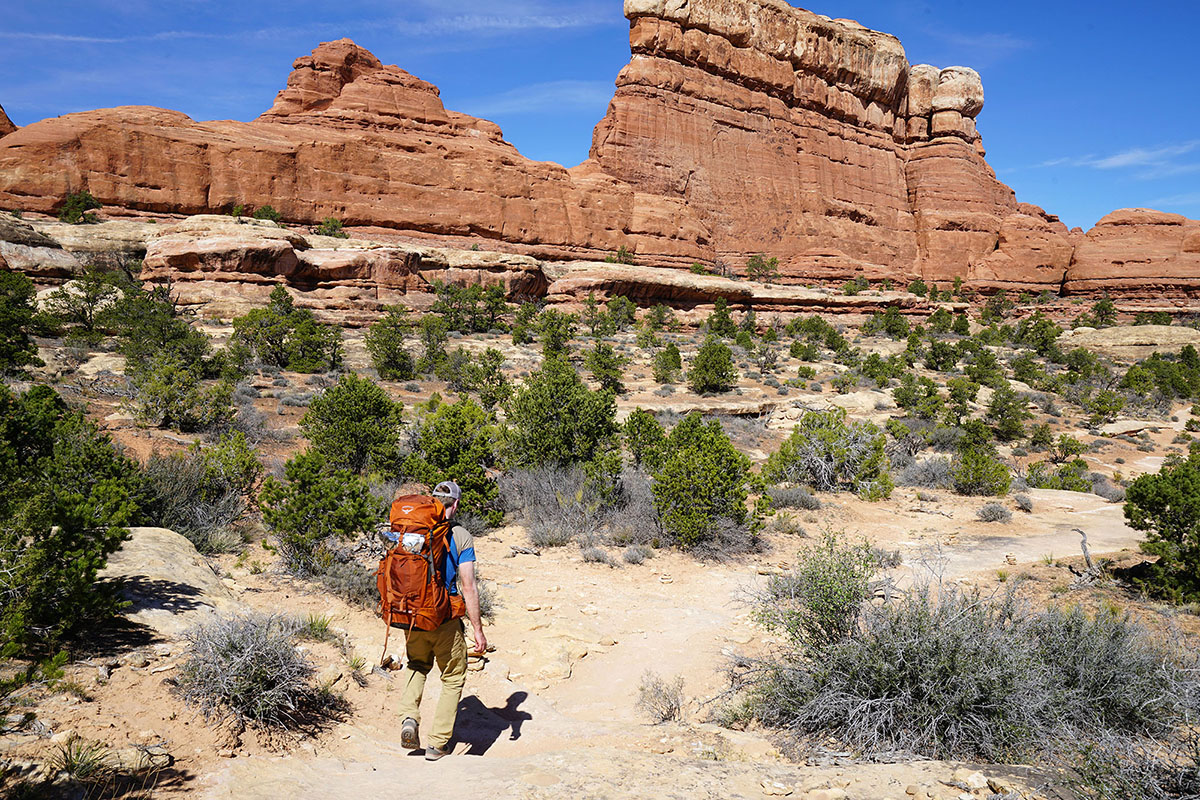 Vasque Grand Traverse (Canyonlands hiking)