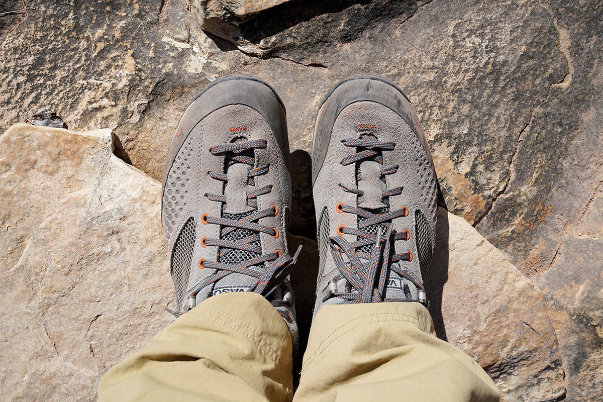 Vasque Grand Traverse (lacing system)