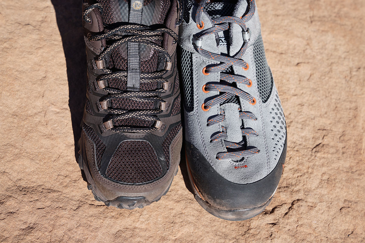 Vasque Grand Traverse approach shoes (laces)