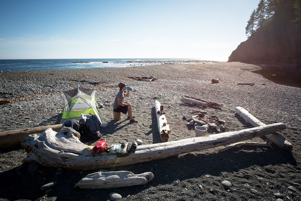 West Coast Trail (beach camping)