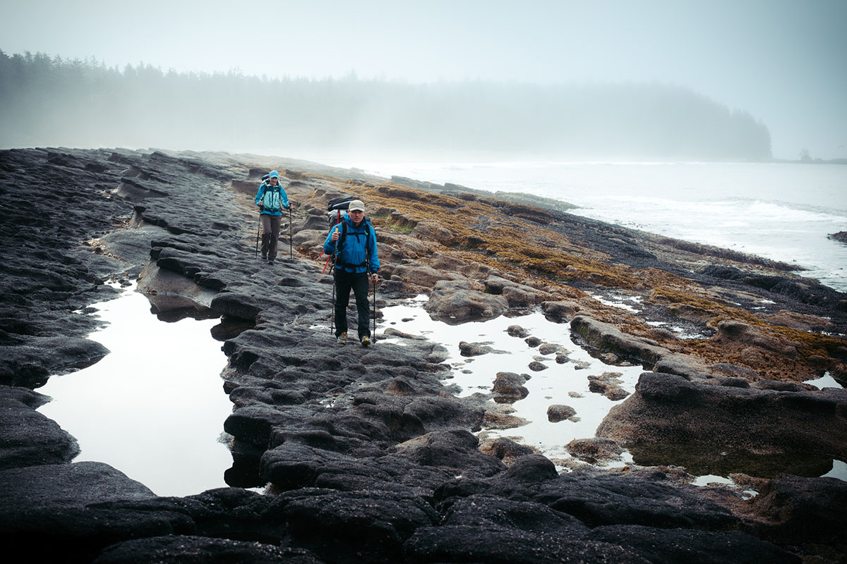 West Coast Trail (rocky coastline)
