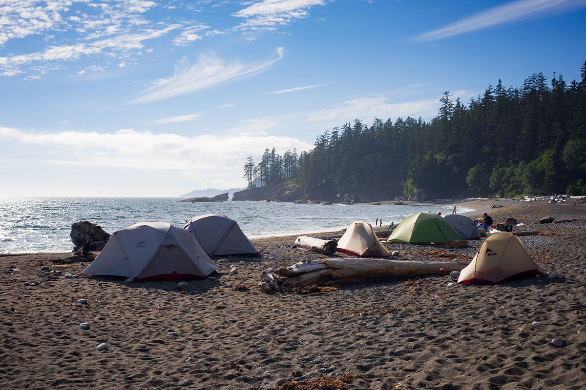 West Coast Trail (tents)