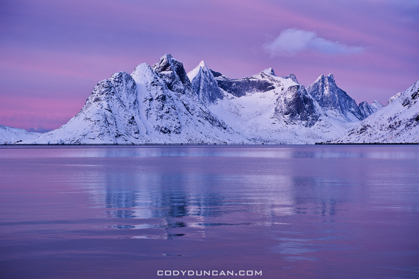 Lofoten Islands - Winter Light