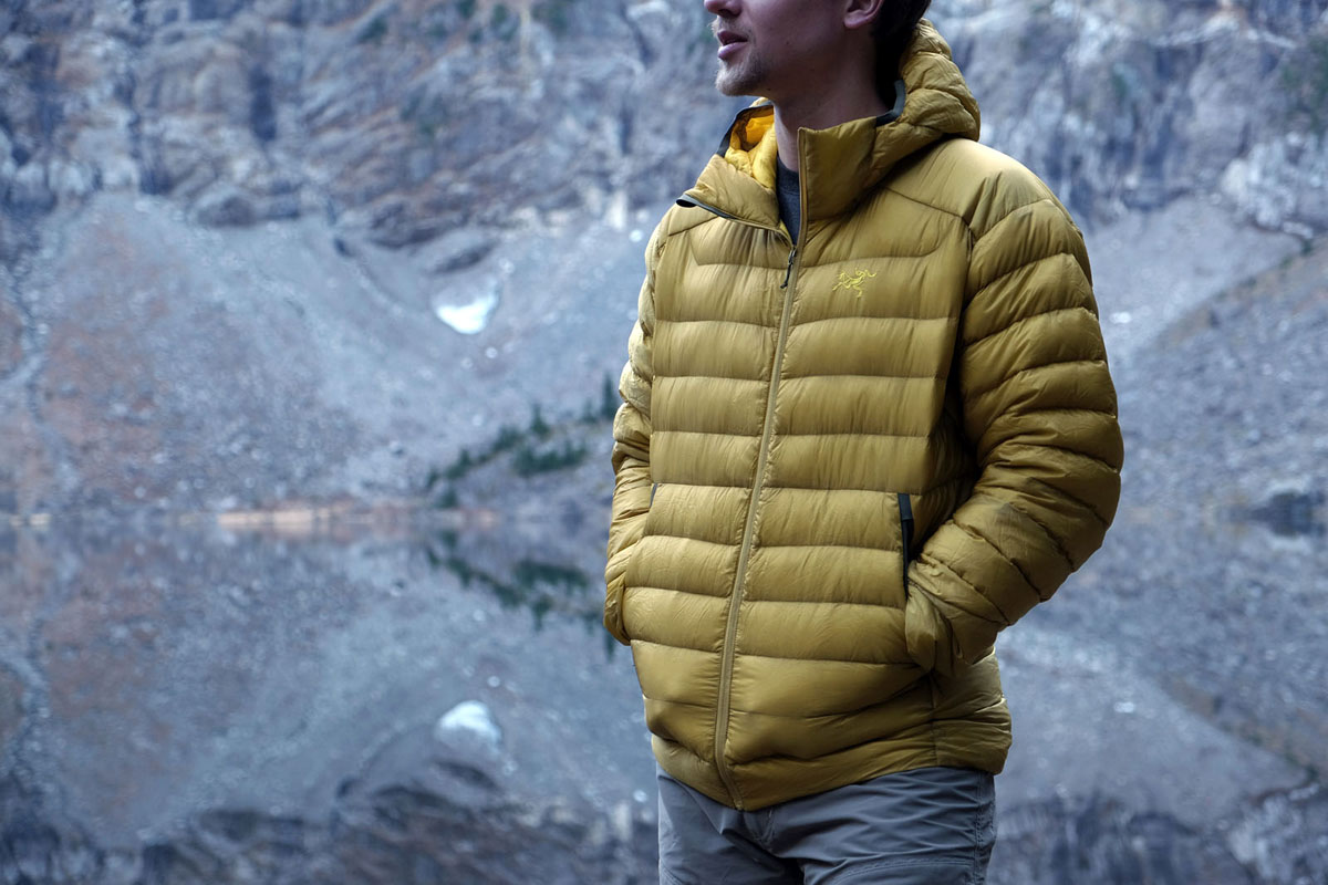 Review Arcteryx Cerium Lt Hoody Switchback Travel Jaket Hoodie One Direction Black Down Jacket