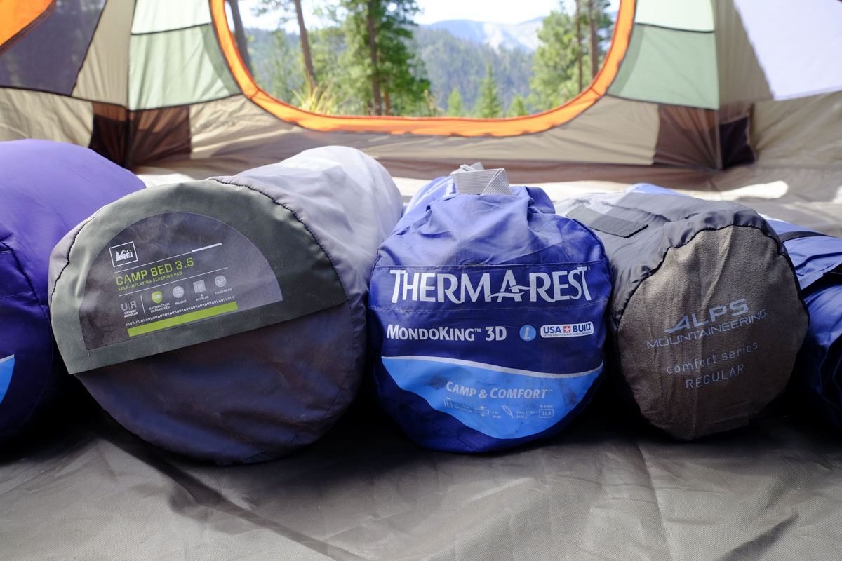 Camping mattresses and pads
