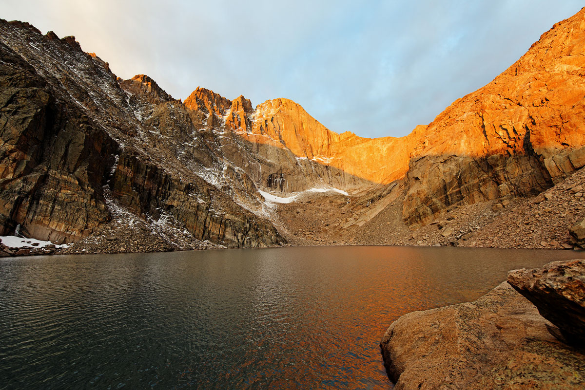 Chasm Lake Colorado