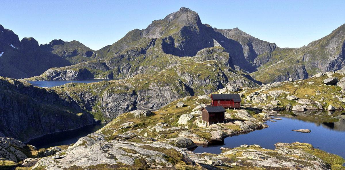 Hiking The Lofoten Islands Great Lofoten Hikes Switchback - Norway map lofoten islands