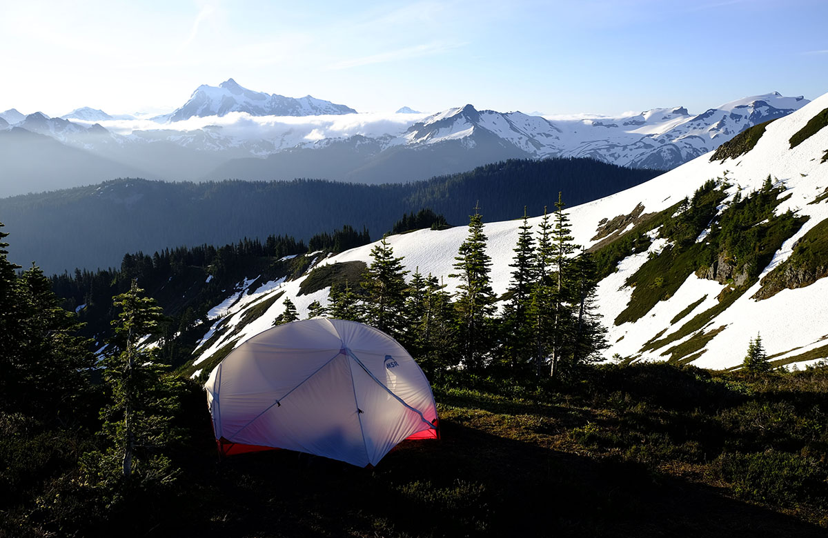 MSR Hubba Hubba NX backpacking tent & Review: MSR Hubba Hubba NX | Switchback Travel