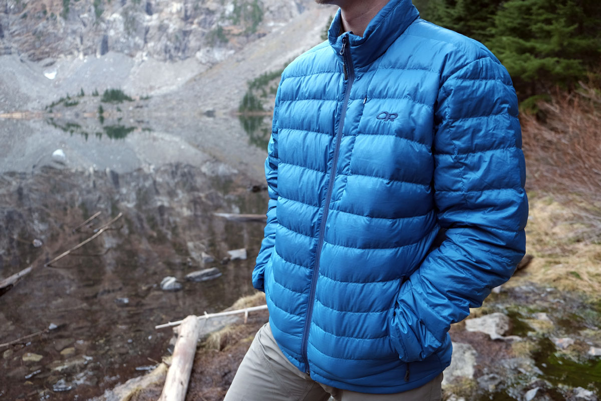 Review: Outdoor Research Transcendent Down Sweater | Switchback Travel