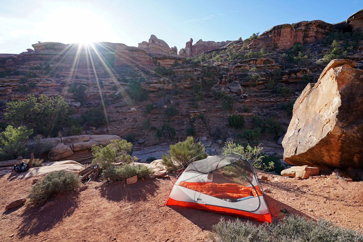 REI Quarter Dome backpacking tent