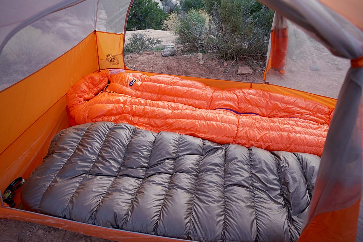 Sleeping bag and quilt