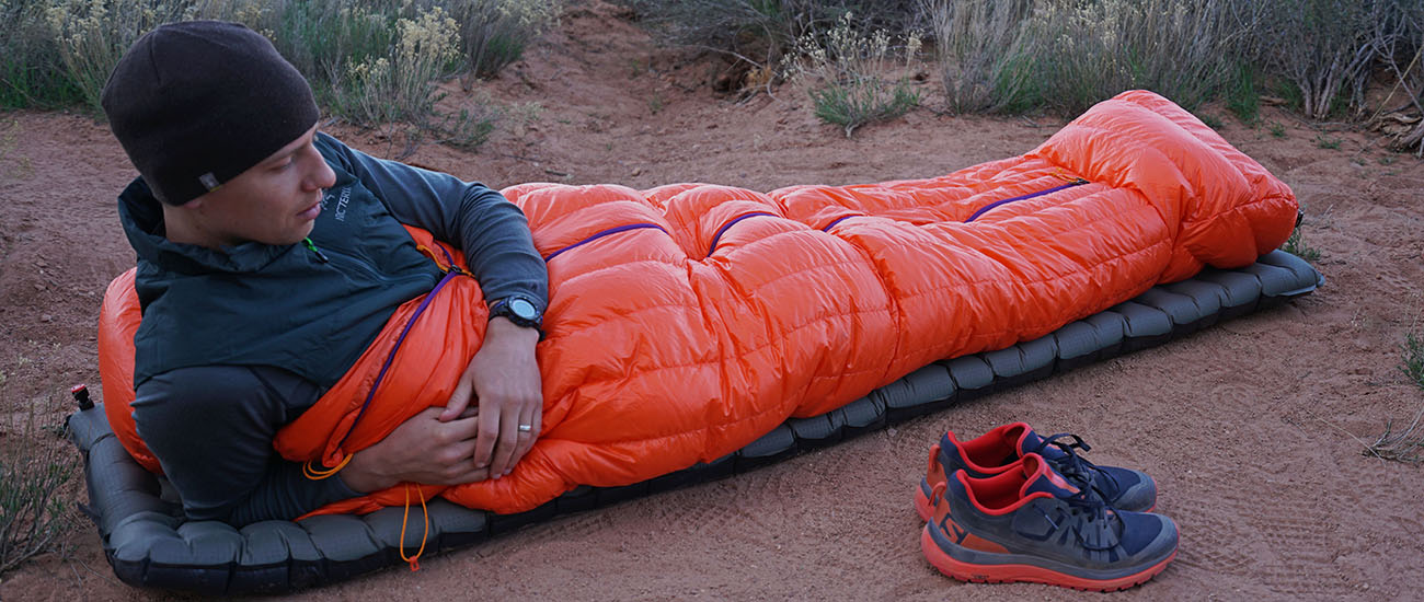 Patagonia 850 Down Sleeping Bag (homepage)