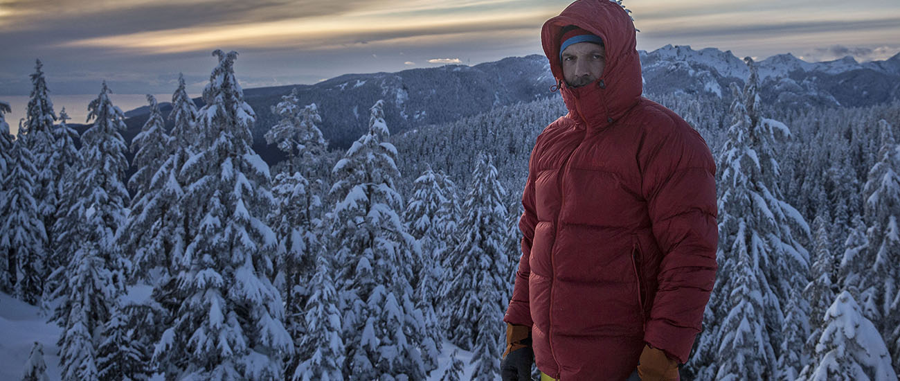 Rab Neutrino Endurance down jacket (homepage)