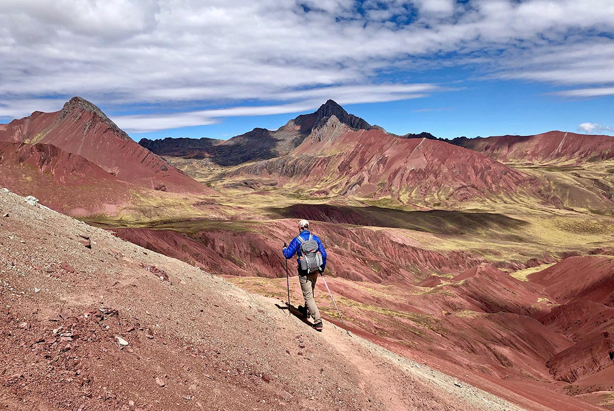 Ausangate Trek (rainbow colored mountains)