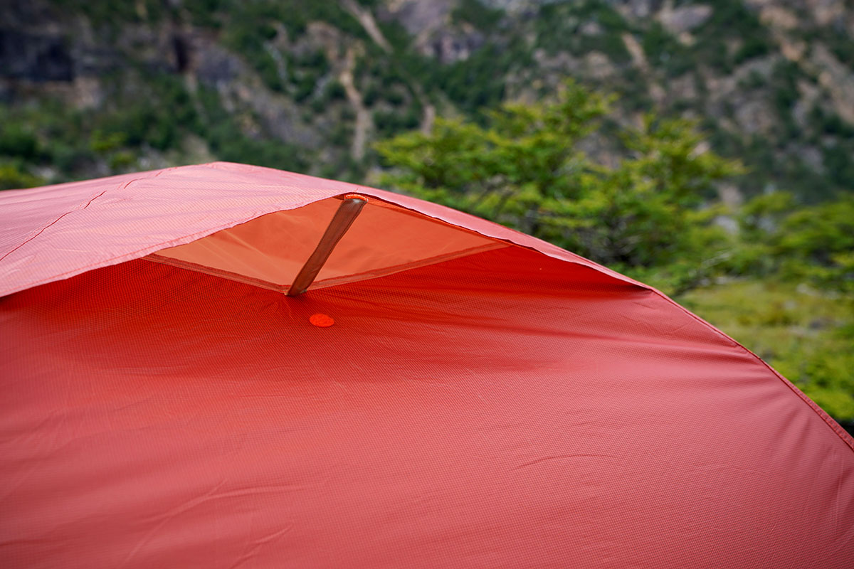 Big Agnes Copper Spur backpacking tent (vent)