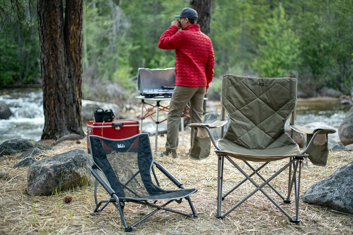 Camping chairs (features)
