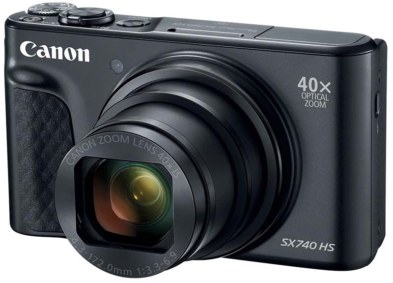 Canon PowerShot SX740 HS point-and-shoot camera