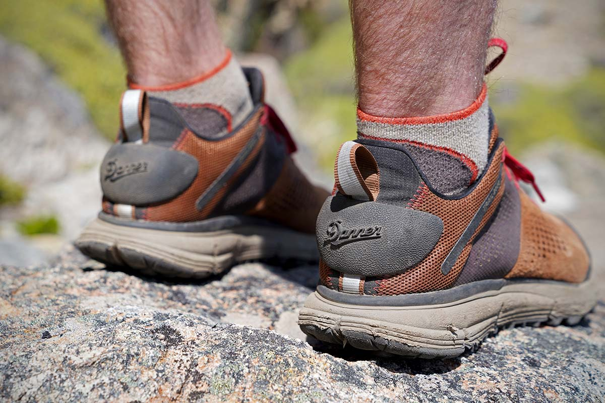 Danner Trail 2650 hiking shoes (heel protection)