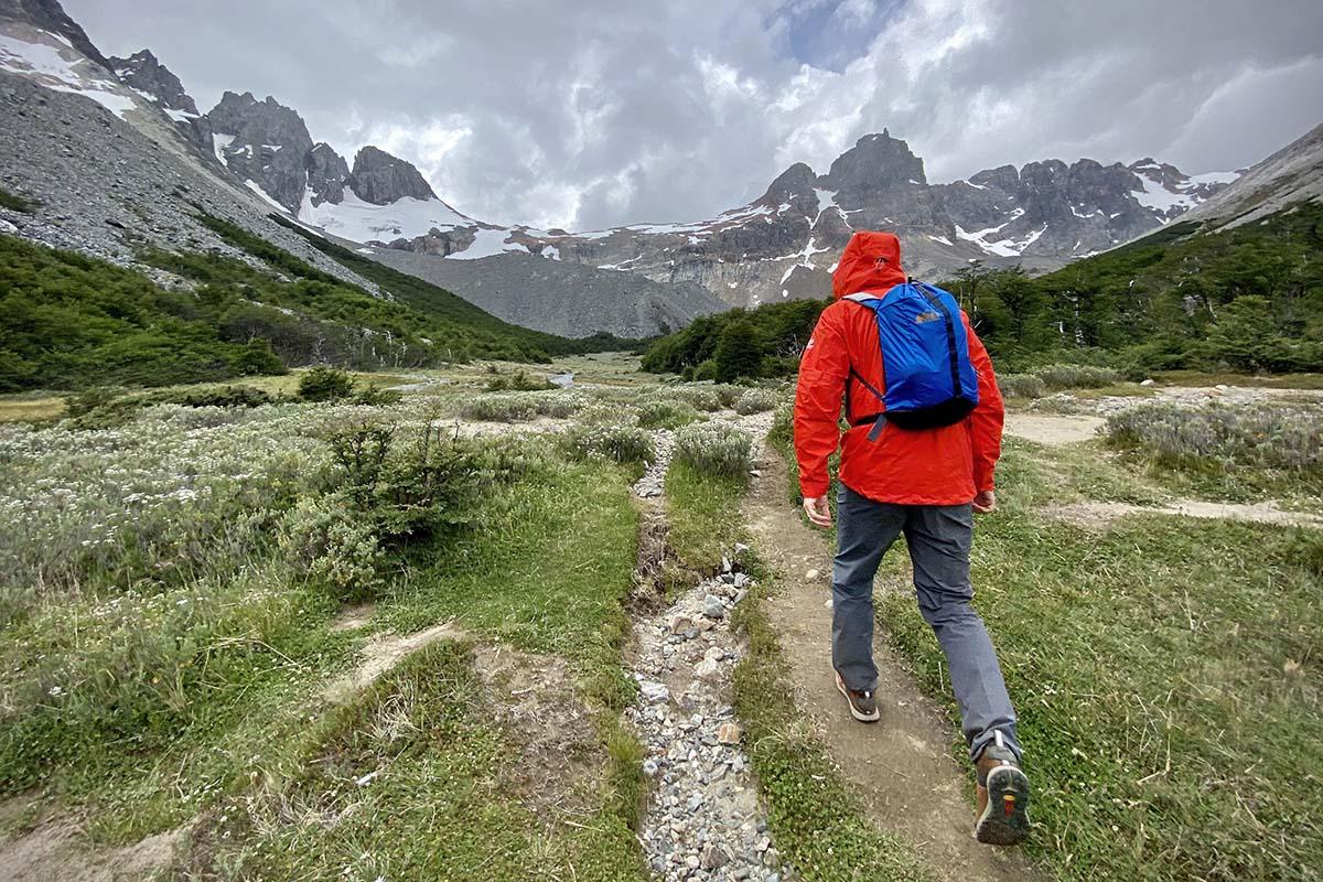 Danner Trail 2650 zapatos para caminar en Cerro Castillo Trek