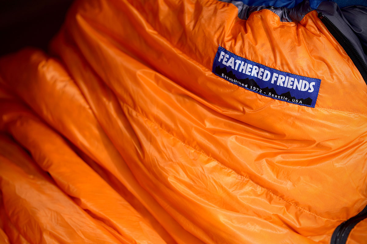 Saco de dormir ultraligero Feathered Friends