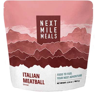 Next Mile Meals backpacking food