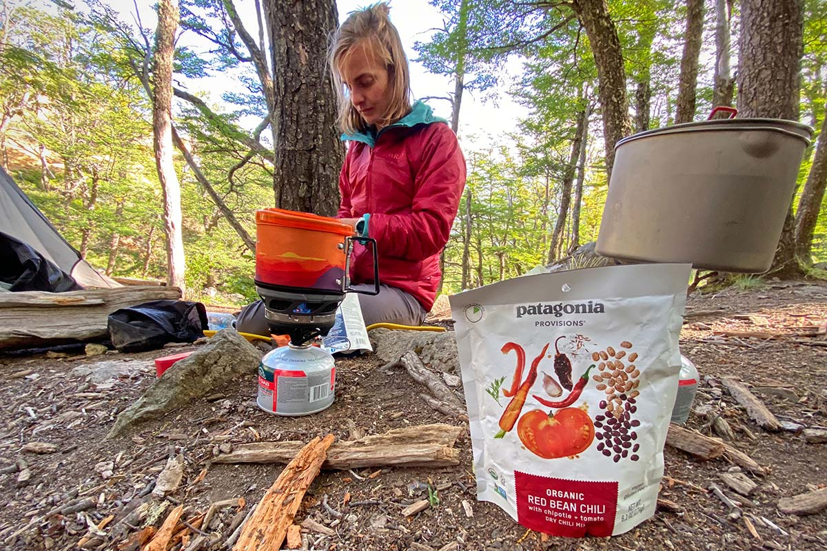 Patagonia Provisions backpacking meal