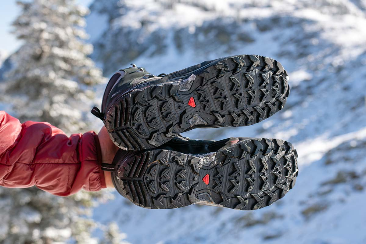 Salomon X Ultra Winter CS WP 2 winter boot (tread on outsole)