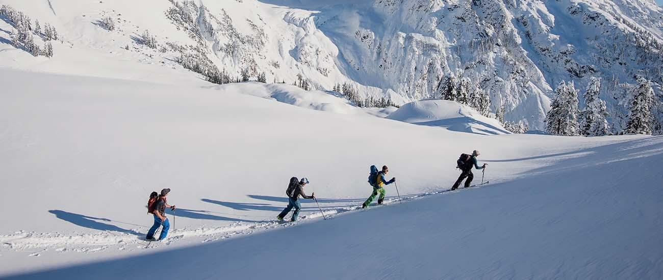 Backcountry skiing checklist (home slide)