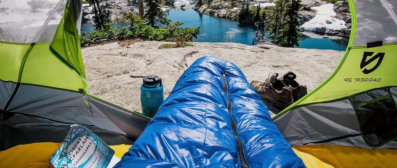 Backpacking Sleeping Bag (homepage)