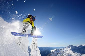 All-mountain snowboard
