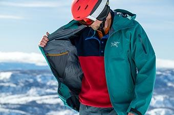 Arc'teryx Sabre AR Jacket (showing lining)
