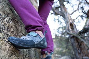 Beginner climbing shoes