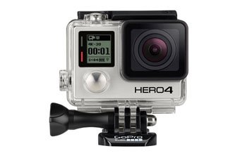Camera for skiing and snowboarding