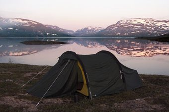 Camping in Norway