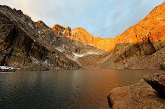 Chasm Lake Colorado