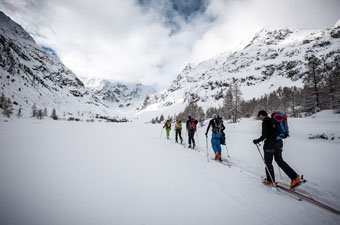 Haute Route skiing header