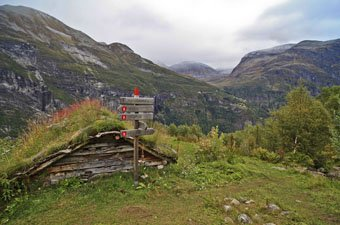 Hiking Signs in Norway