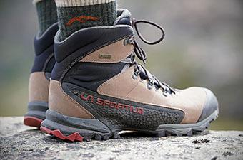 La Sportiva Nucleo High GTX hiking boot (side profile)