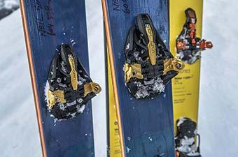 Backcountry ski bindings