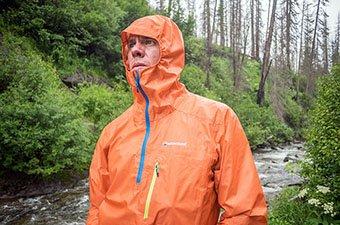 Montane Minimus 777 rain jacket