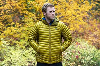 Mountain Hardwear Ghost Whisperer 2 jacket (fall colors)