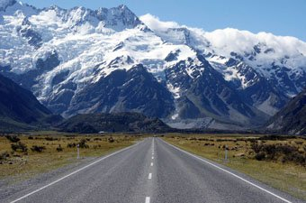 Mt. Cook Village, New Zealand