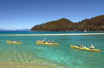 New Zealand Kayaking