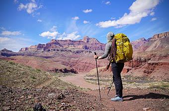 REI Co-op Flash 55 (hiking in Grand Canyon)