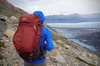 REI Traverse pack (glacier overlook)