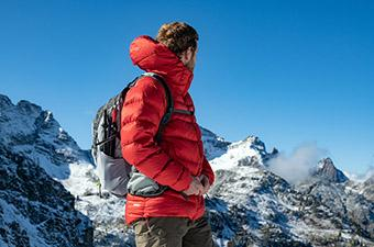 Rab Neutrino Pro (mountain backdrop)