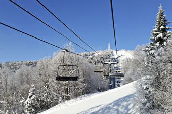 Skiing Mt. Tremblant