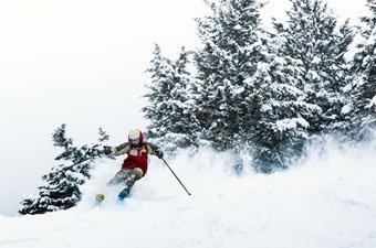Skiing in Jackson