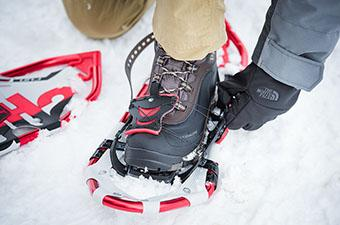 Snowshoe (adjusting binding)