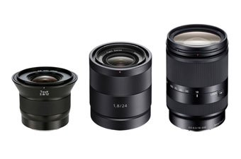 Sony E-Mount Lenses